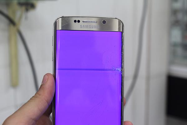 Hình ảnh Samsung S7 Edge bị hỏng màn hình
