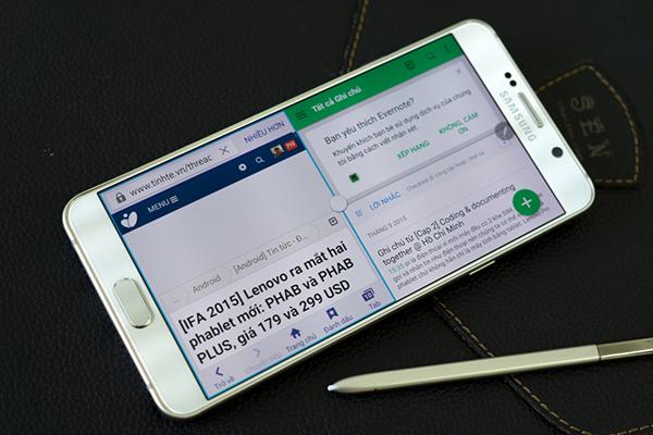 Chia đôi màn hình Note 5