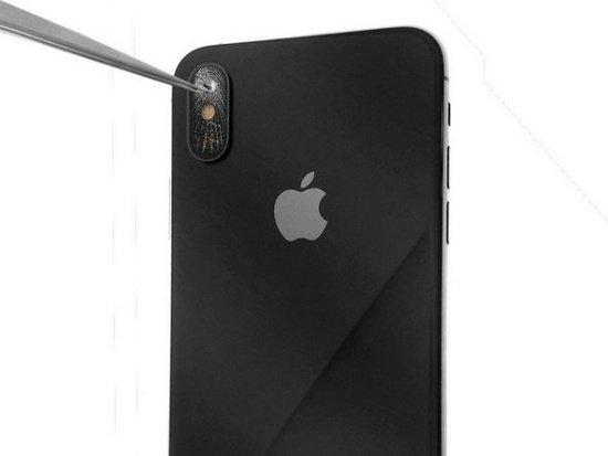 camera iPhone X bị đen